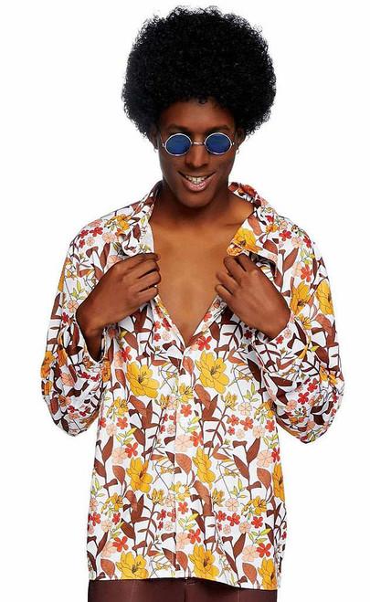 Mens 70s floral Man Costume