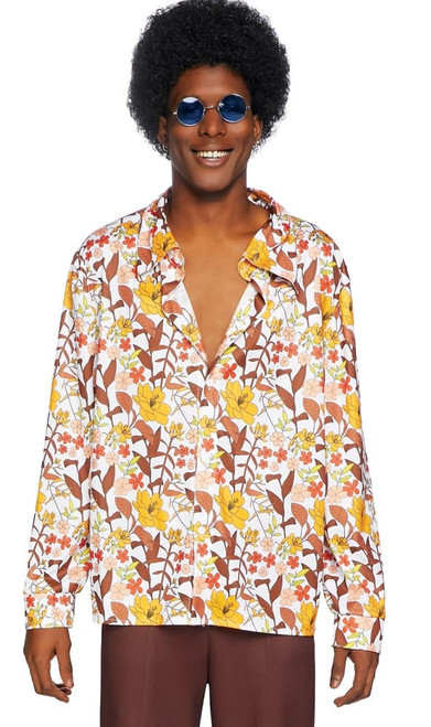 Mens 70s floral Man Costume