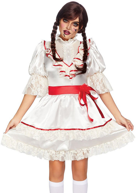 Haunted Doll Woman Costume