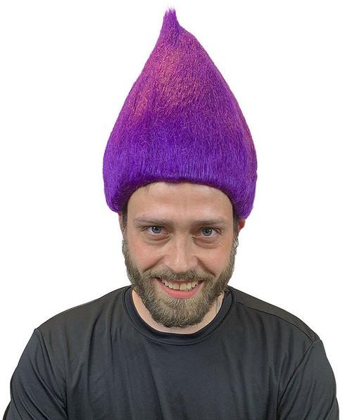 Purple Troll Deluxe Wig