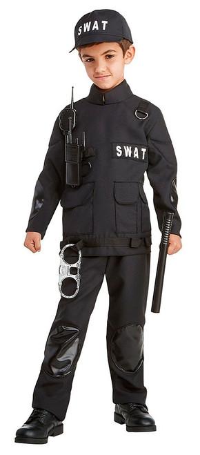 Stealth SWAT Boy Costume