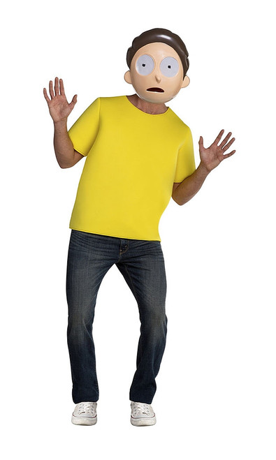 Morty Man Costume