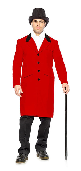 Ringmaster Jacket Man Costume