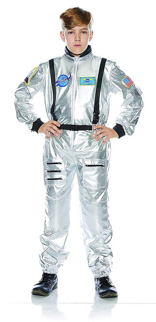 Astronaut Kids Costume - Silver