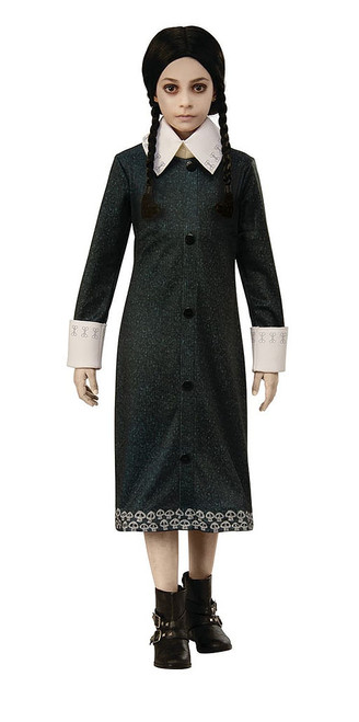 Addams Family-Wednesday Girl Costume