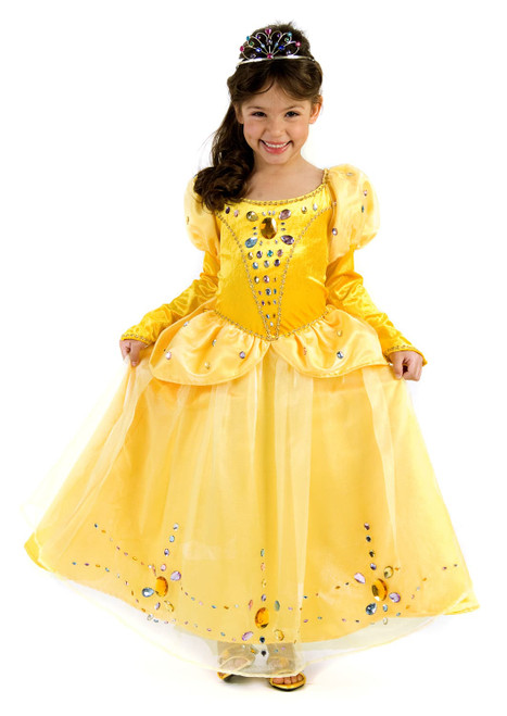 Belle Princess Jeweled Gown Costume