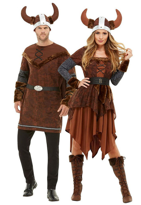 Viking Voyager Couple Costume