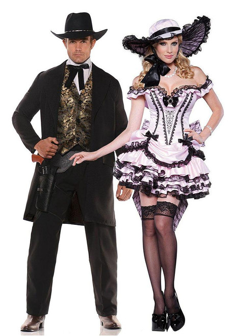 The Gambler and the Southern Belle Couple Costume