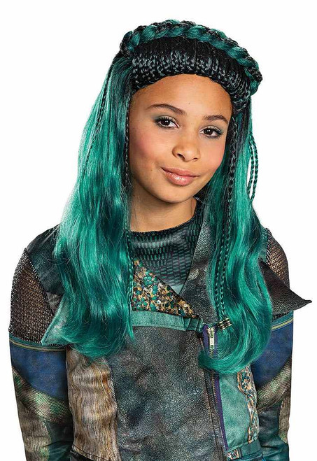Descendants Uma Girl Wig