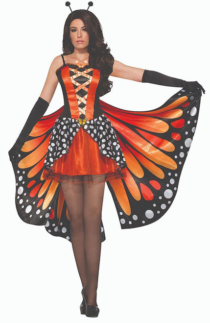 Lady Butterfly Woman Costume