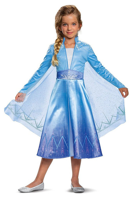 Frozen 2 Elsa Child Costume
