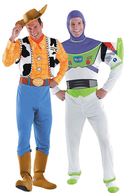 Buzz and Woody Best Friends Costume