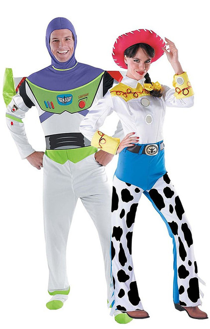Jessie and Buzz Toy Story Couple Costume
