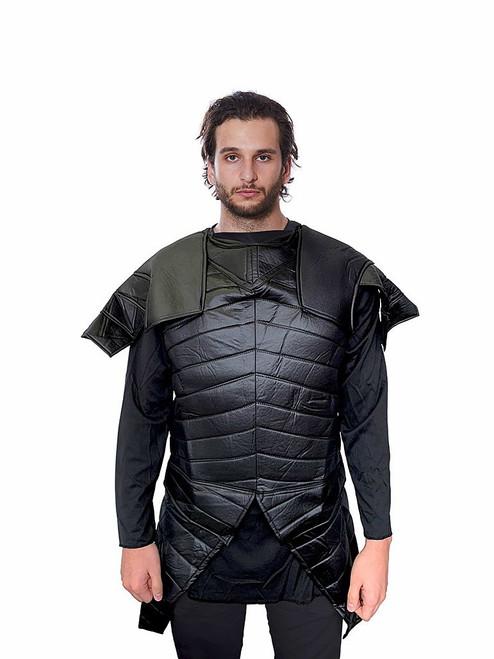 Mens Medieval Black Warrior Tunic