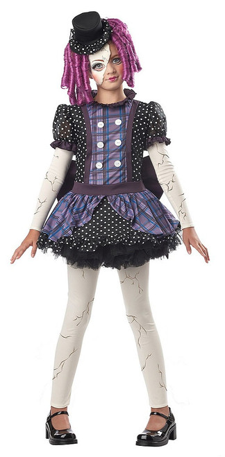 Broken Doll Girl Costume