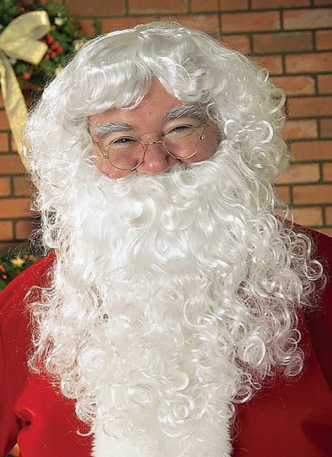 Economy Santa Beard & Wig Set