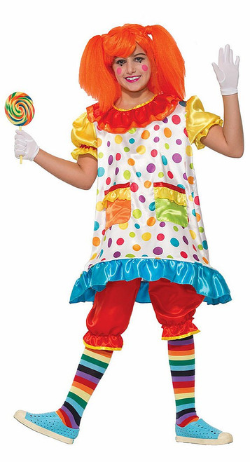 Wiggles The Clown Child Costume