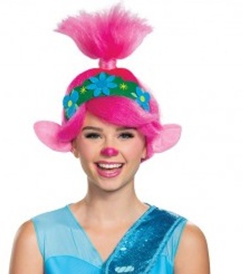 Trolls Poppy Woman Wig