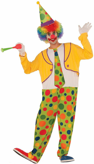 Hoppy The Clown Adult Costume
