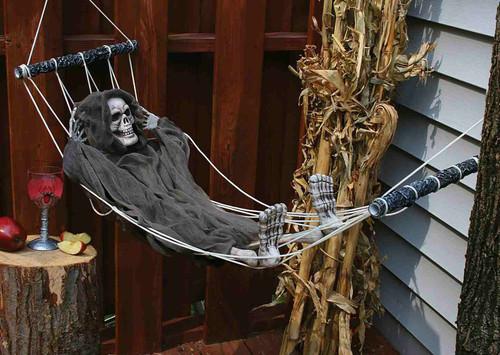Lazy Bones 64 inch Reaper Hammock Decor
