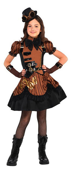 Steampunked Girls Costume