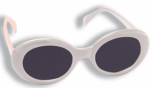 Mod Tinted White Glasses