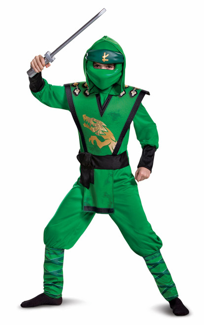 Lego Lloyd Legacy Ninjago Child Costume