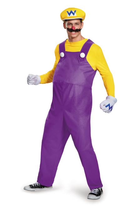 Wario Mens Deluxe Costume