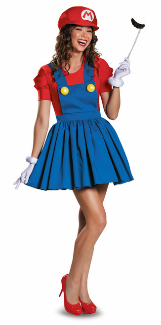 Mario Skirt Costume for Women