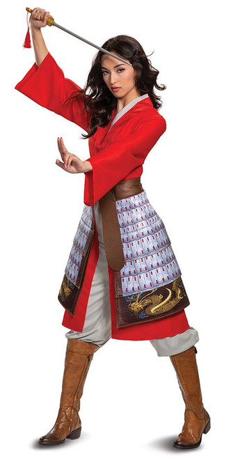 Mulan Hero Delux Costume for Women