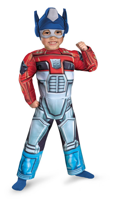 Rescue Muscle Optimus Prime Costume
