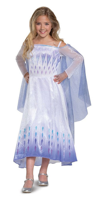 Frozen Elsa Deluxe Girl Costume