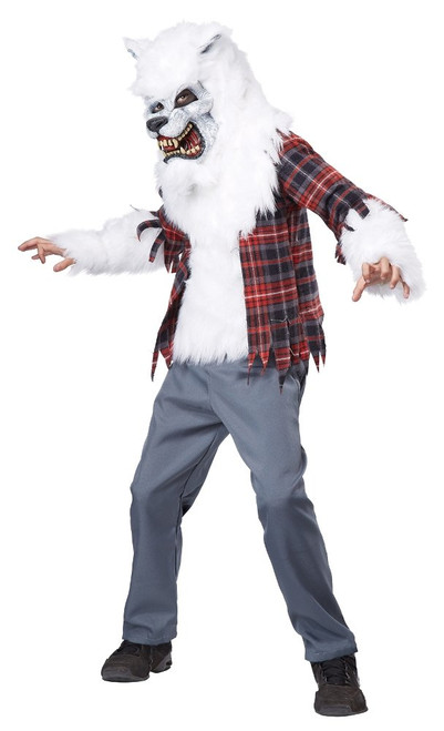 White Werewolf Costume for Men