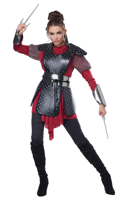 Warrior Samurai Costume for Women