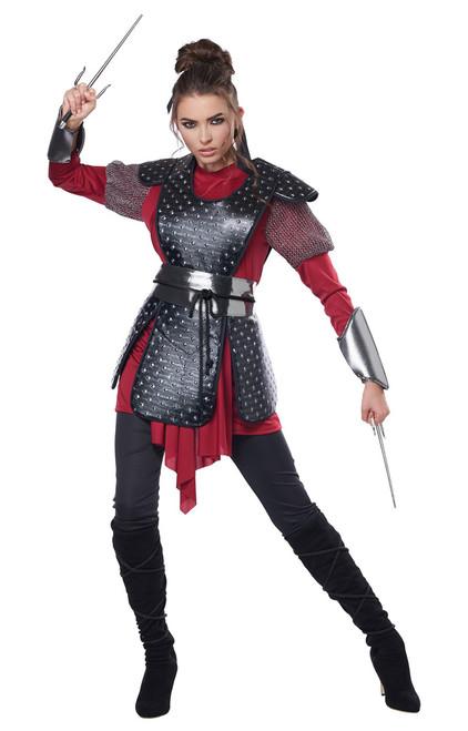 Warrior Samurai Costume for Women