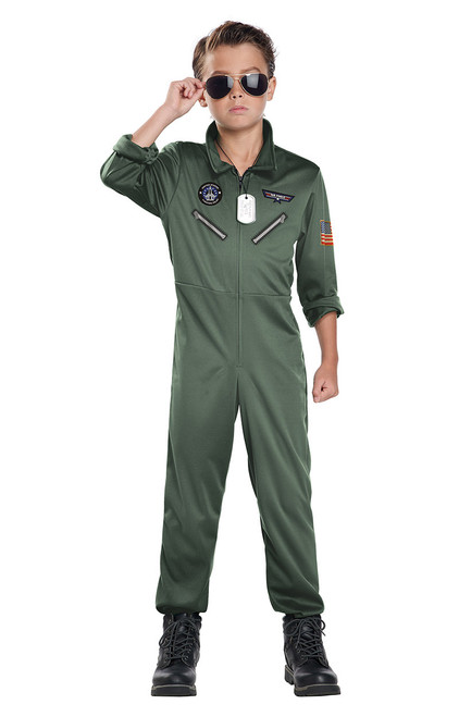 Fighter Pilor Costume for Boys