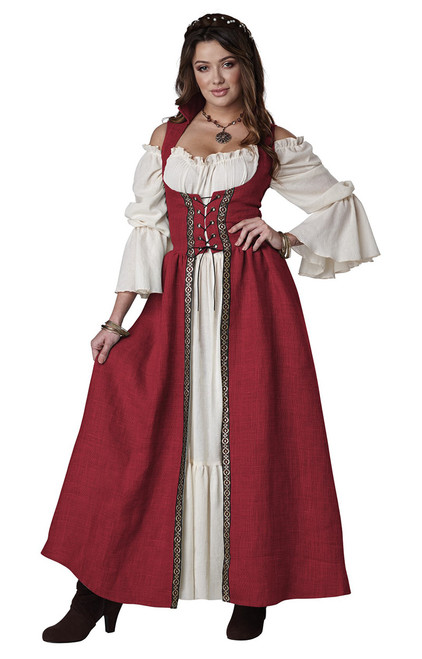 Overdress Medieval Costume for Women