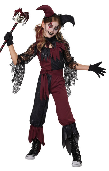 Psycho Jester Costume for Children