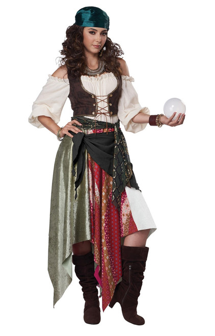 Renaissance Gypsy Costume for Women