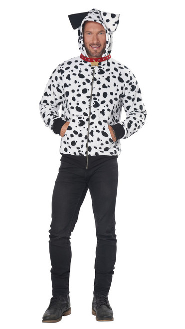 Dalmation Hoodie Costume for Women