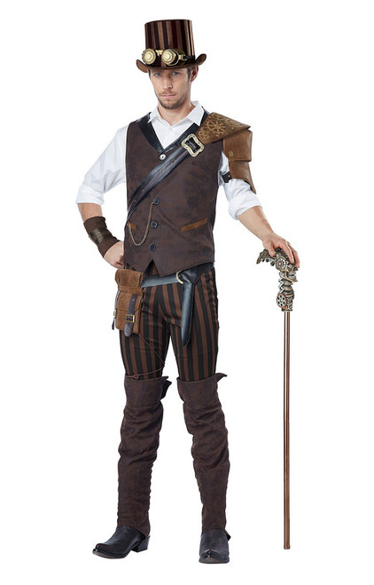 Steampunk Adventurer Costume for Men