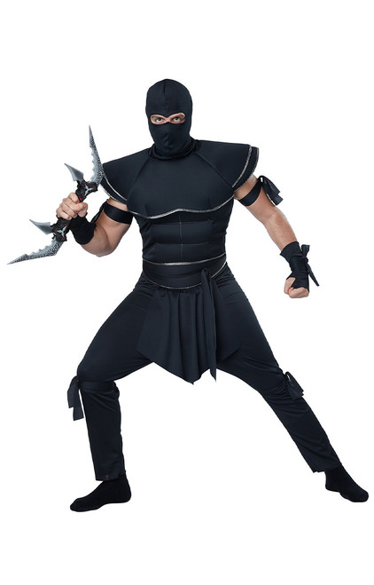 Stealth Ninja Costume for Men