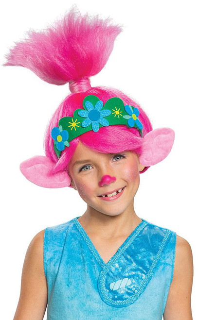 Trolls Poppy Wig for Girls