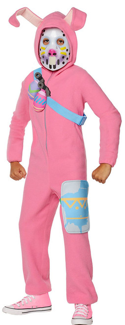 Fortnite Rabbit Raider Skin Girl Costume