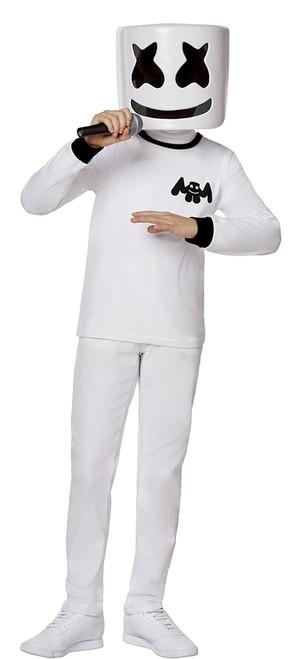 Fortnite Marshmello Boy Skin Costume