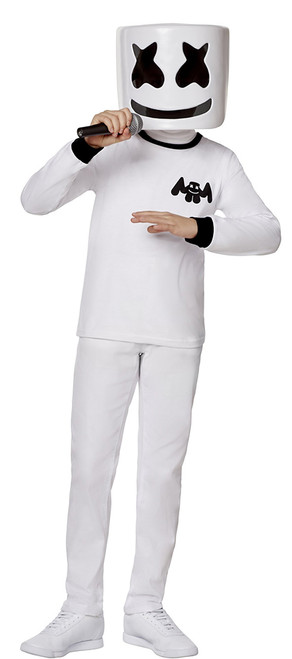 Fortnite Marshmello Boy Skin Costume
