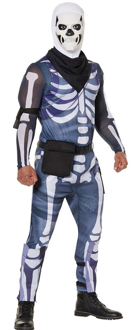 Fortnite Skull Trooper Man Costume Skin