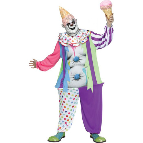 Gluttonous Clown Costume for Men