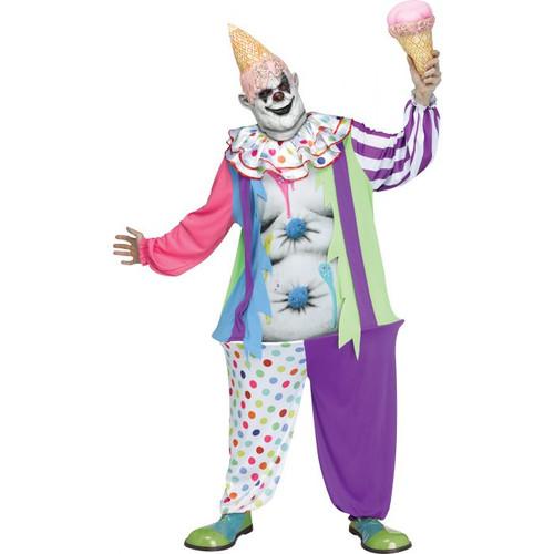 Gluttonous Clown Costume for Men