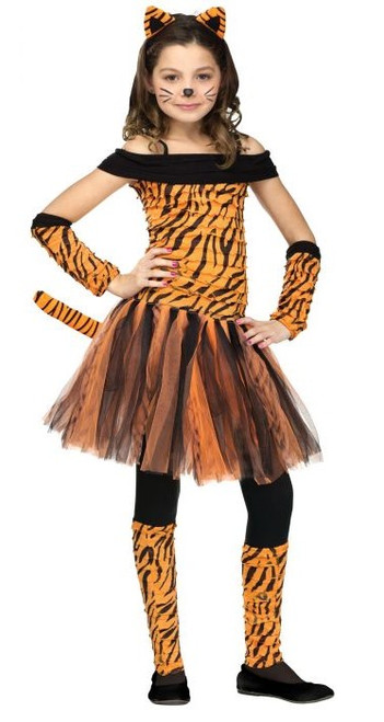 Tiger Girl Costume
